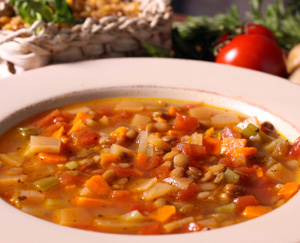 My Mother's Lentil Soup