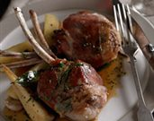Lamb Chops Saltimbocca