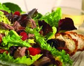 Lamb and Berry Salad with Avocados