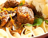 Lamb and Vegetable Pasta