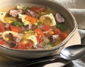 Tortellini and Lamb Country Soup