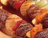 Apple-icious Lamb Kabobs