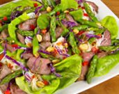 Thai Grilled Lamb and Asparagus Salad