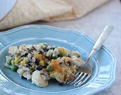 Black Bean and Mixed Rice Casserole