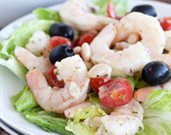 Navy Bean Shrimp Salad