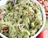 Guacamole with Pinto Beans