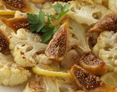 Roasted Cauliflower with Calimyrna Figs and Lemons