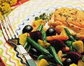 Technicolor Vegetable Saut�