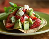 Strawberry Tostada