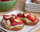 Strawberry and Brie Bruschetta