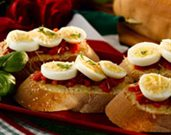 Italian Bruschetta with an Eggscellent Twist