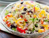 Black Bean, Mango, and Quinoa Salad