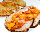 Pork Tenderloin with Peach Compote