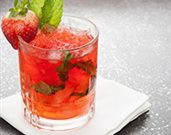 Sweet Strawberry and Lime Mojito