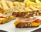 Apple Cheddar Turkey Panini