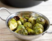 Honey Dijon Roasted Brussels Sprouts