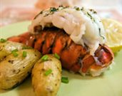 Lobster Tails with Lemon Dill Butter
