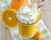 Vegan Orange Creamsicle Shake