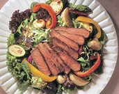 Beef Steak & Roasted Vegetable Salad