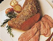 Beef Tri-Tip with Rosemary-Garlic Vegetables