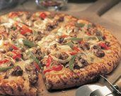 Cheese Steak Pizza