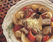Savory Beef Stew with Roasted Vegetables