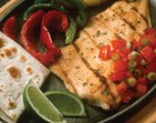 Rainbow Trout Fajitas
