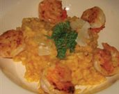Shrimp & Pumpkin Risotto