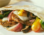 Italian Pork Pita Pockets