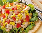 Herbed Pork and Corn Salad