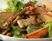 Hot Pork and Pear Salad