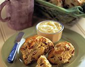 Savory Onion and Dried Cherry Scones