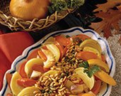 Winter Root Vegetables with Pine Nuts