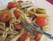 Penne with Cherry Tomatoes