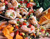 On the Border Shrimp Salad
