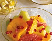 Pomegranate Autumn Fruit Salad