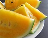 Yellow Watermelon Salad
