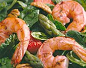 Summertime Grilled Shrimp Salad