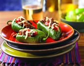 Picadillo-Stuffed Jalapeño Peppers