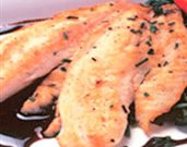 Tilapia Fillets with Balsamic Reduction