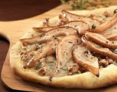 Pear, Gorgonzola, and Walnut Pizza