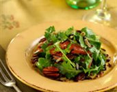 Wild Rice, Arugula, Grapefruit, and Toasted Pecans