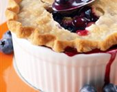 Blueberry-Apricot Pot Pies