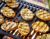 Grilled Yellow Potato Planks