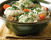 Chicken and Potato Dumplings