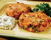 Cod Cakes with Tartar Sauce