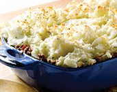 Roasted Garlic and Rosemary Mashed Potatoes Shepherd's Pie