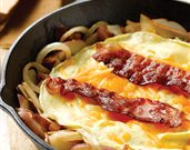 Bacon, Egg, and Red Potato Skillet
