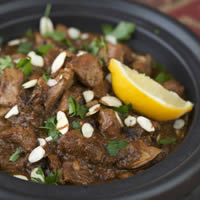 Lamb Tagine with Prunes and Honey