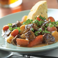 Pub-style Irish Stew with Lamb